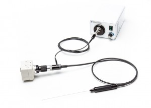 Super thin Milliscope II with Milliwand hand piece for ergonomic inspections