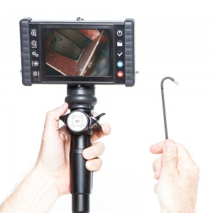 iRis DVR X Videoscope rental, Hand held and portable with 4-Way Articulation