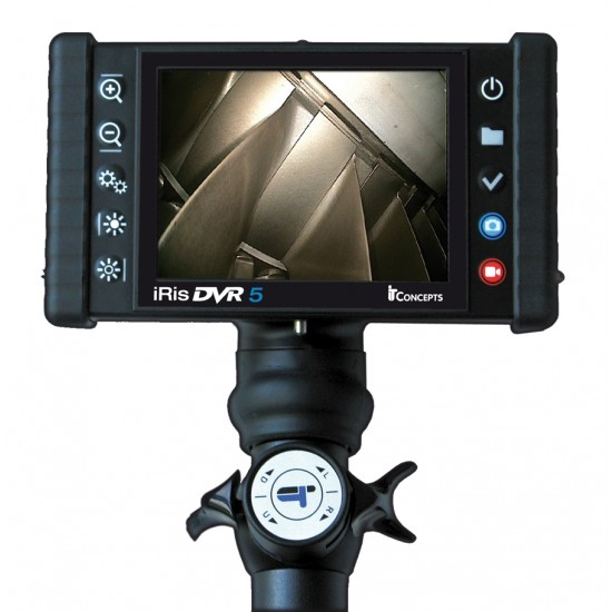 iris DVR 5 Videoscope Industrial Video Borescope