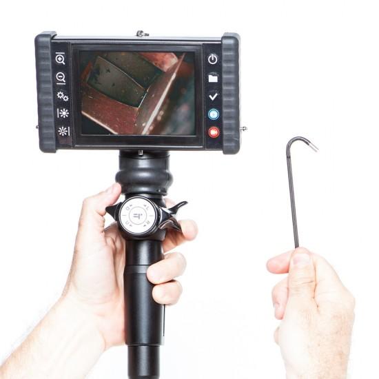 iris DVR 5 Videoscope Industrial Video Borescope with articulating tip