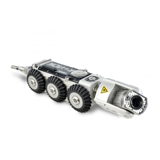 Industrial Robotic Crawler with Pan Tilt and Zoom Camera