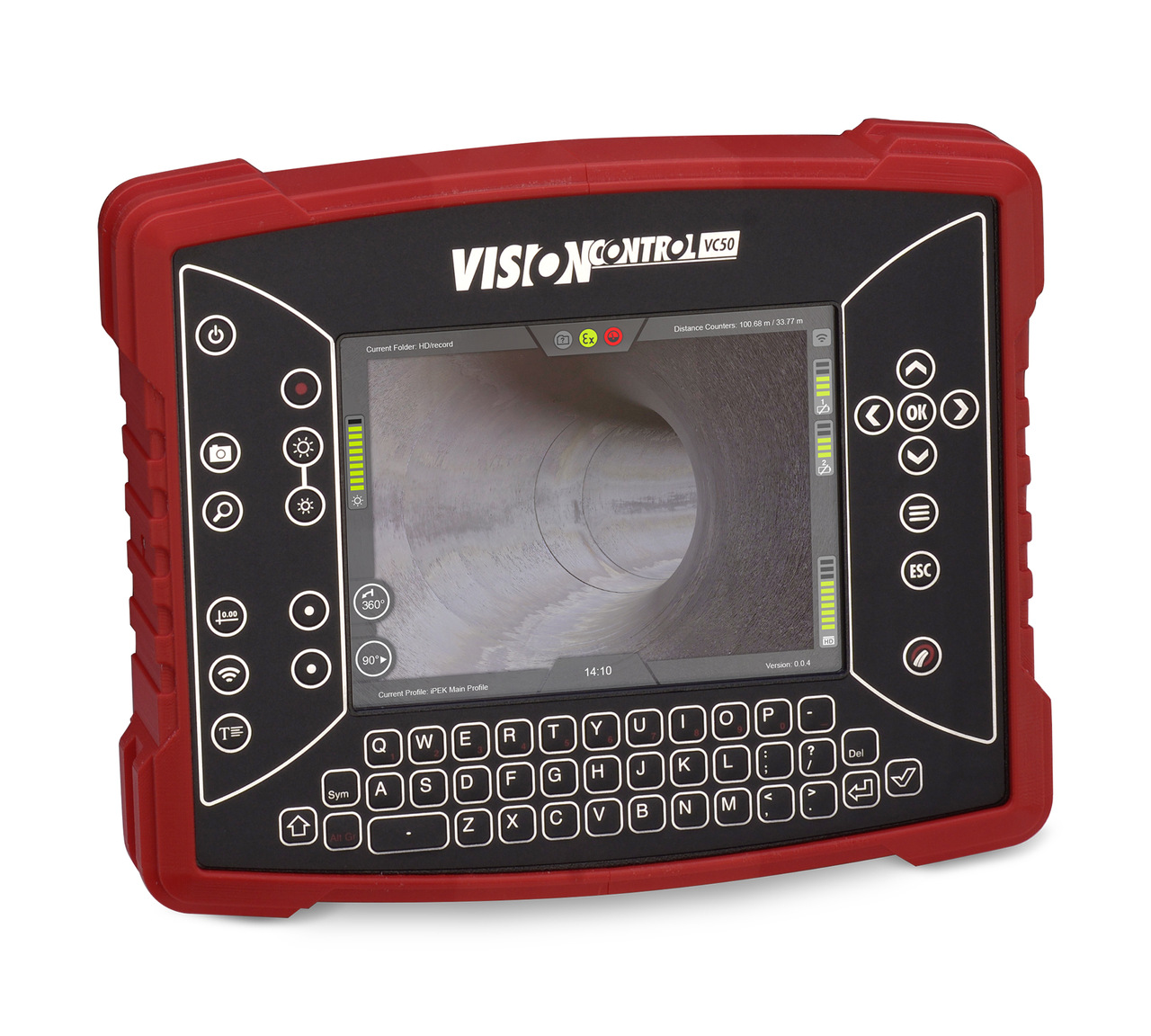 VC50 Mobile Control Panel for use with Agilios 9011 push camera
