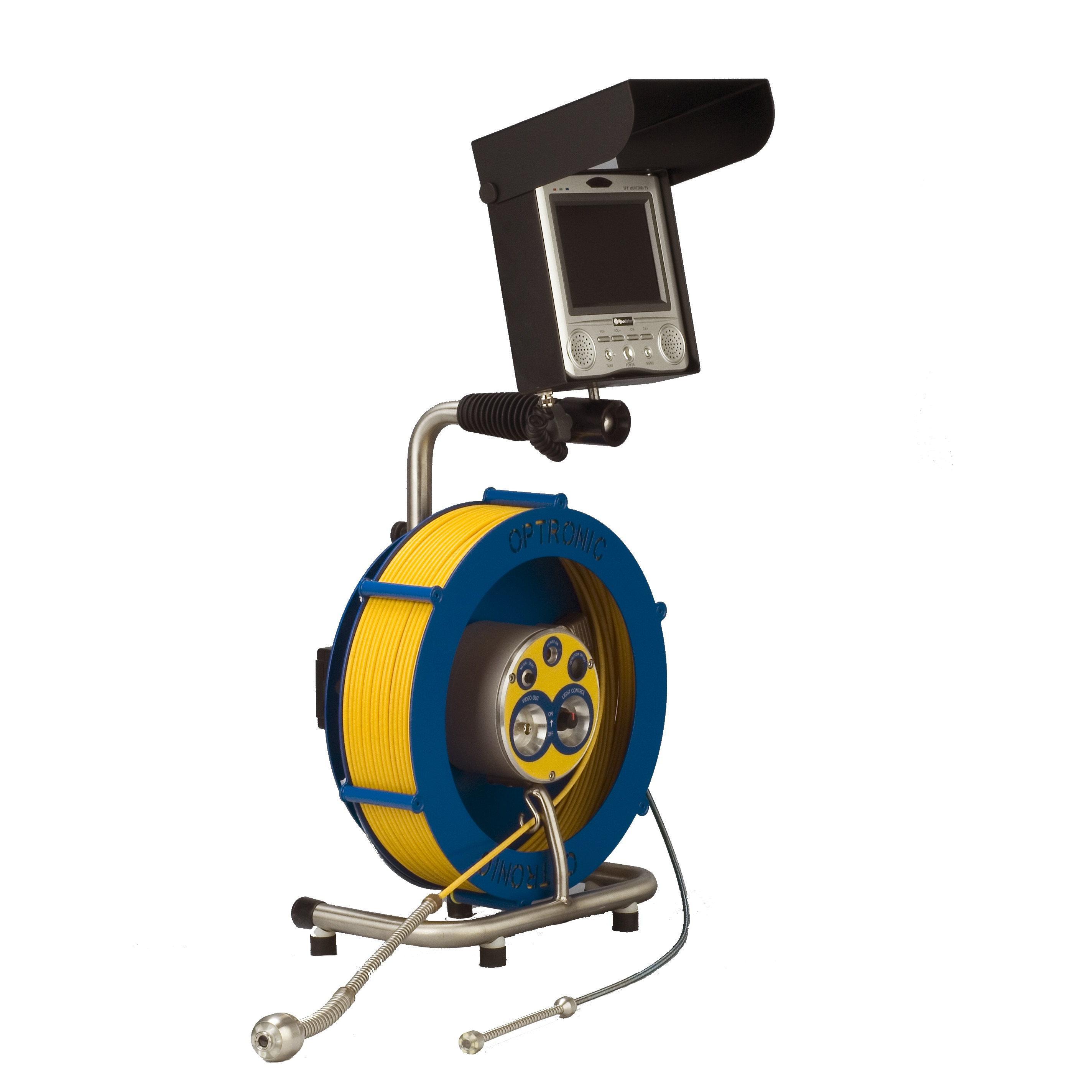 Kombi inspection camera is a light weight and portable remote visual inspection camera for industrial applications
