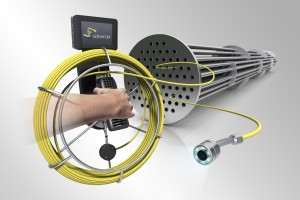 Sidewinder Pipe Camera heat exhanger